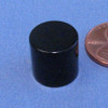 "N45 1/2""x1/2"" Neodymium Rare Earth Cylindrical Magnet Epoxy Coated"