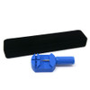 Magnetic Bracelet Novoa Men's Satin Titanium Magnetic Bracelet With Gold Accents - 12,800 Gauss #A8035
