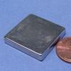"Block Magnet N52 1""x1""x3/16"" Neodymium"