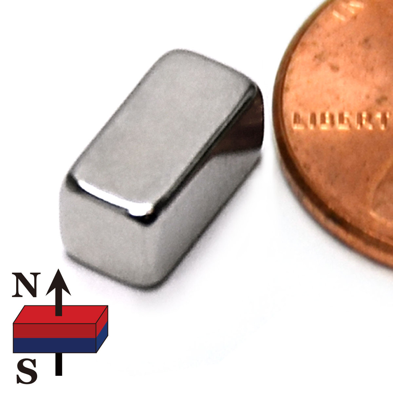 20X N52-10*3*3mm-with hole Rare Earth Magnets Neodymium DIY Magnets