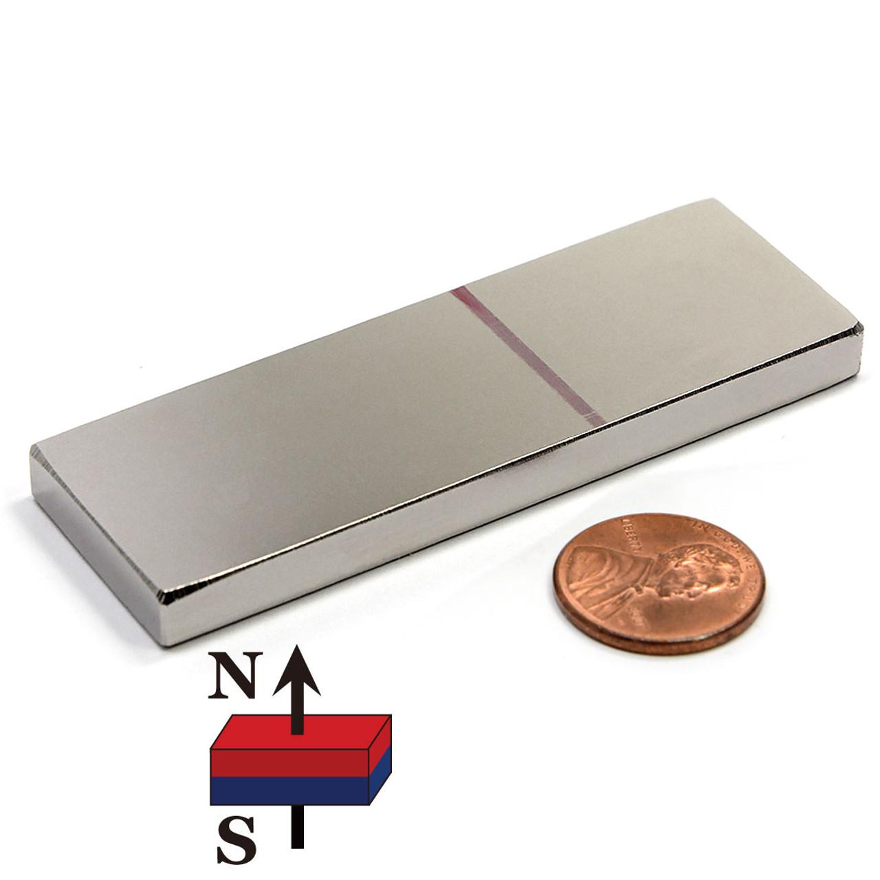 200x Neodymium Magnet Block 7x7x3 N52 Gold Plated