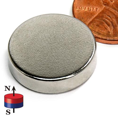 "3/4X3/16"" NdFeB Rare Earth Disc Magnet"
