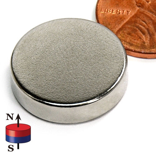 "3/4X3/16"" NdFeB Rare Earth Disc Magnet"
