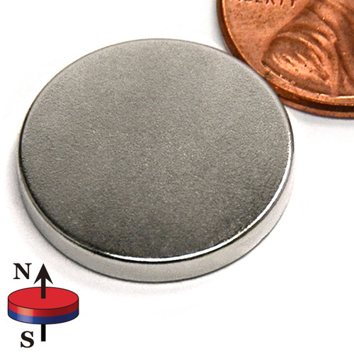 "7/8X1/8"" NdFeB Rare Earth Disc Magnet"