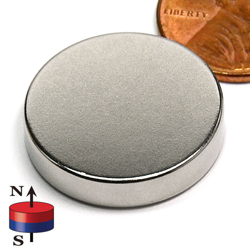 "7/8X3/16"" NdFeB Rare Earth Disc Magnet"