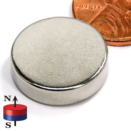 "3/4X2/10"" NdFeB Rare Earth Disc Magnet"