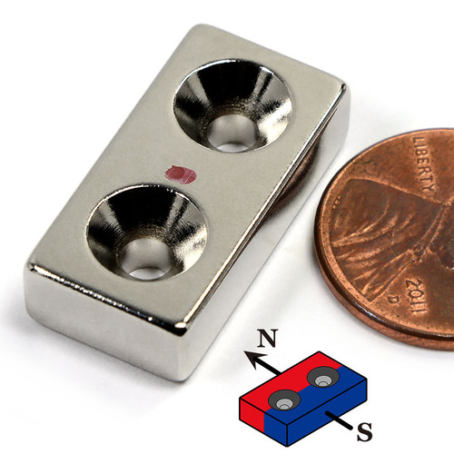 Countersunk Neodymium Magnets