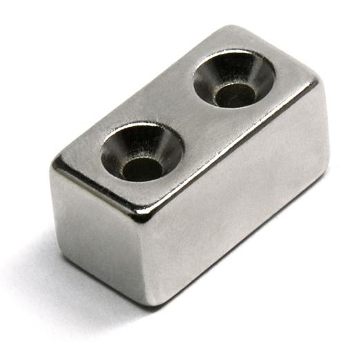 Rectangular neodymium magnets with countersunk Hole