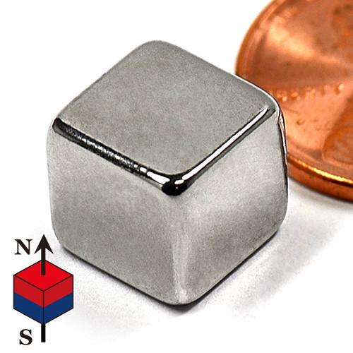 "3/8"" Cube NdFeB Rare Earth Magnets"