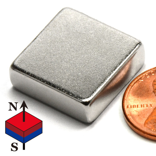 "3/4x3/4x1/4"" NdFeB Rare Earth Magnets"