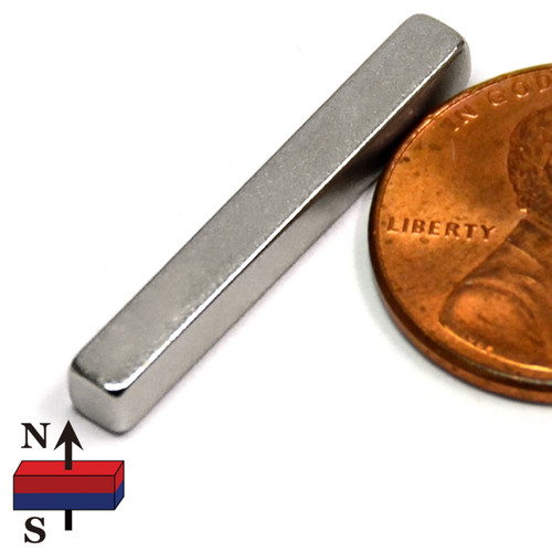 "1""x1/8""x1/8"" NdFeB Rare Earth Magnets"