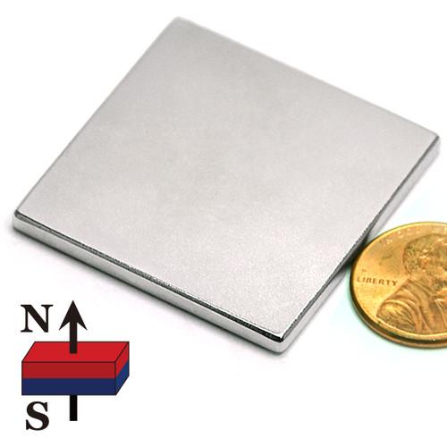 "1.5x1.5x1/8"" Neodymium Magnet"