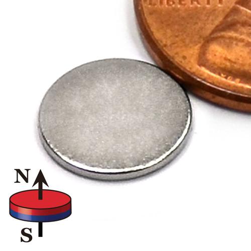"""Disc Neodymium Magnets N35  Dia 10 x 1mm Rare Earth Disks ( Dia 0.394 x 0.039"""" )"""