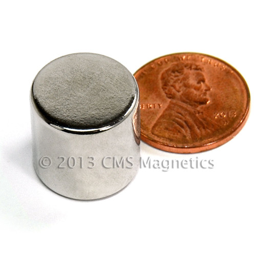strong magnets for sale next to a penny except you can see the whole magnet super magnets