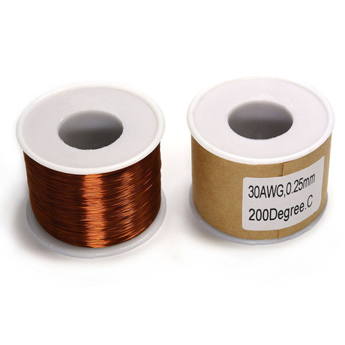 Magnet wire 1Lb Spool of 30 AWG Magnet Wire MW-30AWG-1