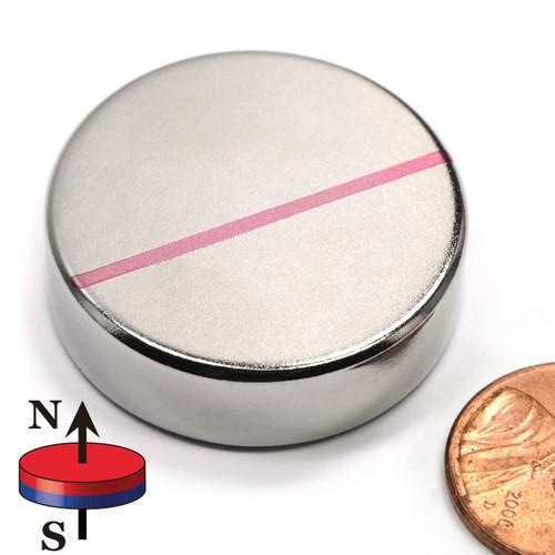 """1.26"""" x 3/8"""" Neodymium Magnets"""
