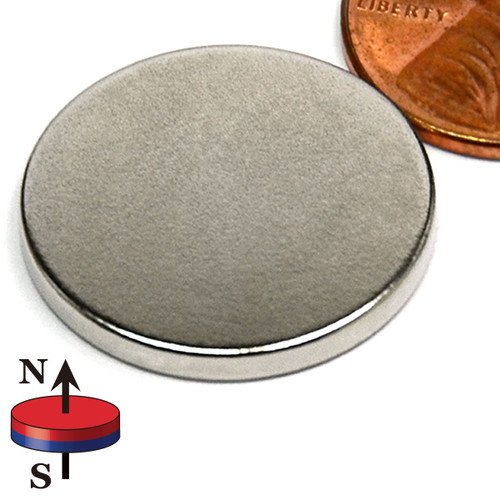 "7/8X3/32"" NdFeB Rare Earth Disc Magnet"