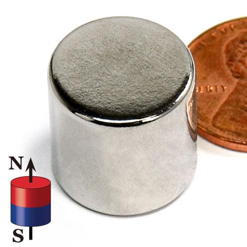 """5/8X5/8"""" NdFeB Rare Earth Disc Magnet N52 5/8""""x5/8"""" Neodymium Rare Earth Disc Magnet"""