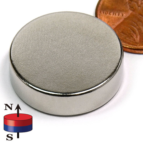 "7/8X1/4"" NdFeB Rare Earth Disc Magnet"