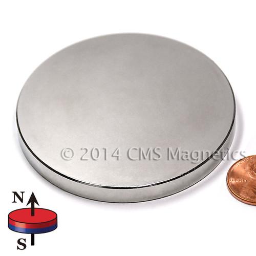 """Neodymium Magnets 2 1/2 x 1/4"""" N45 Neodymium Magnet"""