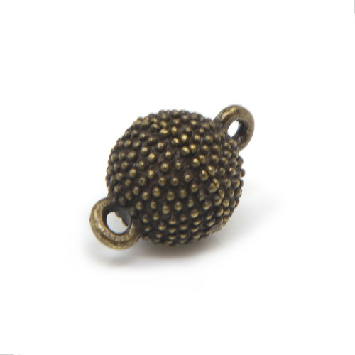 """<img src=""""Magnetic Bracelet Clasp Antique Styled Beaded Copper Magnetic Bracelet Clasp.png"""" alt="""" magnetic jewelry clasps strong magnetic clasps for jewelry"""">"""