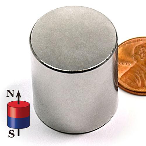 "7/8X1.0"" NdFeB Rare Earth Cylindrical Neodymium Magnet"