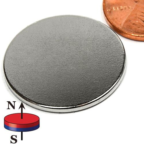 "1X1/16"" N45 Disc Neodymium Magnet"
