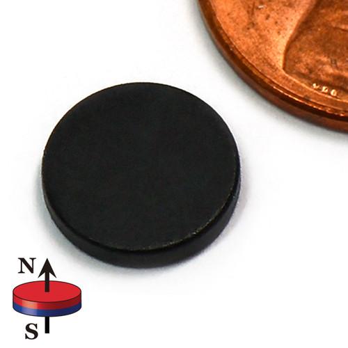 "3/8""X1/16"" NdFeB Rare Earth Magnets Epoxy Coated"