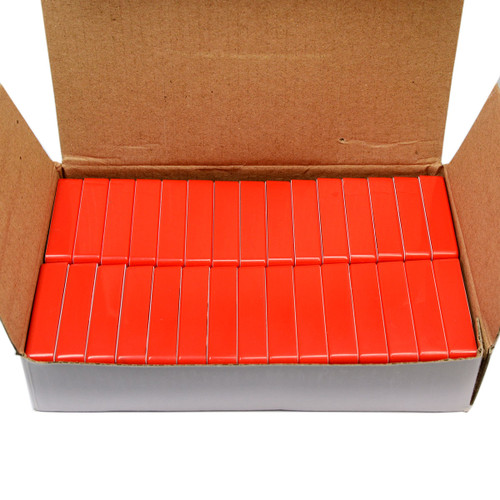 30 Piece Red Magnetic Holders