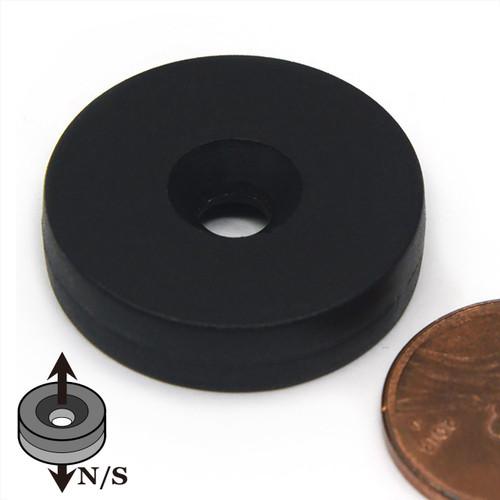 Disc Neodymium Magnet Countersunk Hole