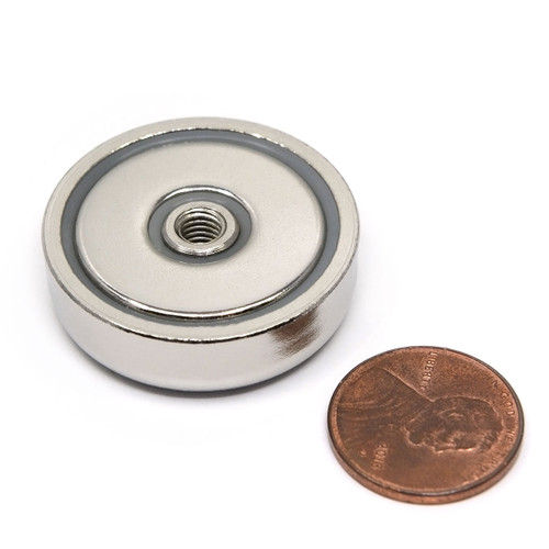"""1.26"""" Cup Magnet - 88 LB  Pull"""