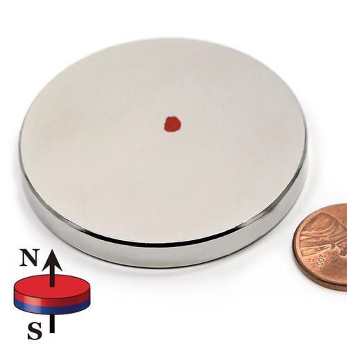 """Neodymium Disc Magnets Dia 2 x 1/4"""""""