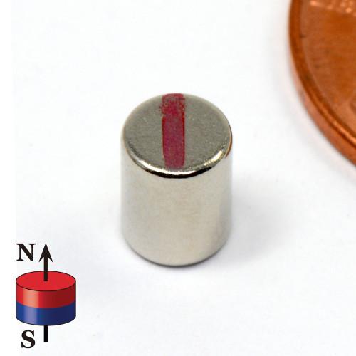 "N52 Neodymium Magnet Cylinder Dia 5/32""x1/4"" Rare Earth Magnets"