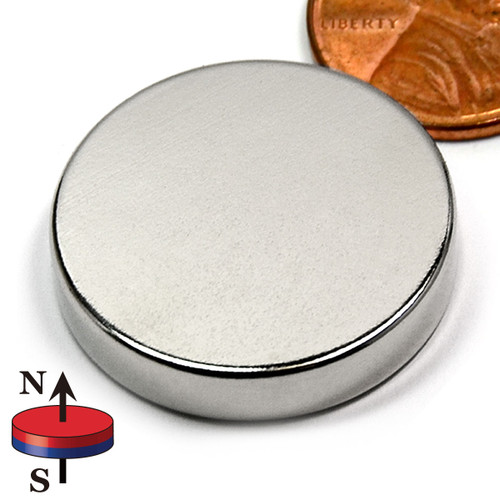 "1""X0.2""  N45 Disc Neodymium Magnet"