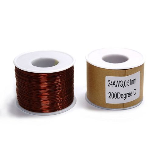 Magnet wire 1Lb Spool of 24 AWG Magnet Wire MW-24AWG-1