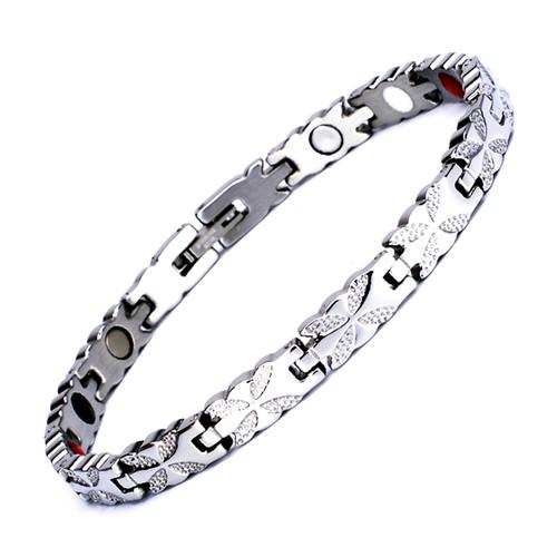 Magnetic Bracelet Novoa Women's Quad-Element Titanium