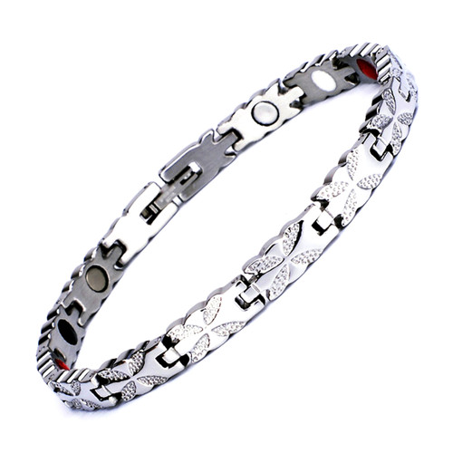 Magnetic Bracelet Novoa Women's Quad-Element Titanium