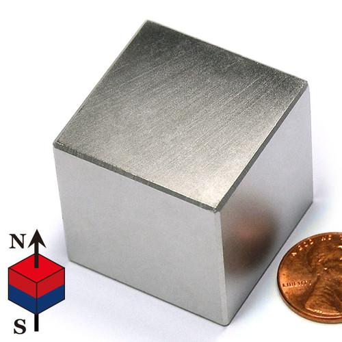 "1 1/4"" Cube NdFeB Rare Earth"