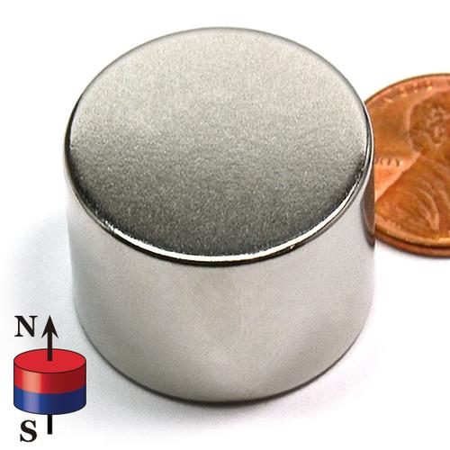 "1""X3/4"" N42 Disk Neodymium Magnet"