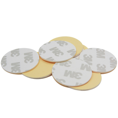 "10 Pieces of Dia 1.26"" 3M Foam Adhesive for Disc Magnets or MCHN Cup Magnets"