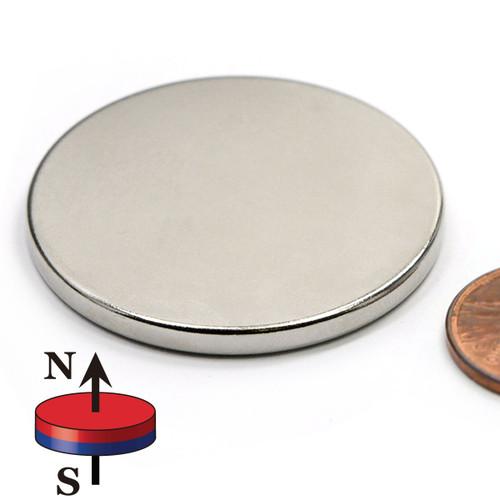 "1 1/2X1/8"" N42 Disc Neodymium Magnet"