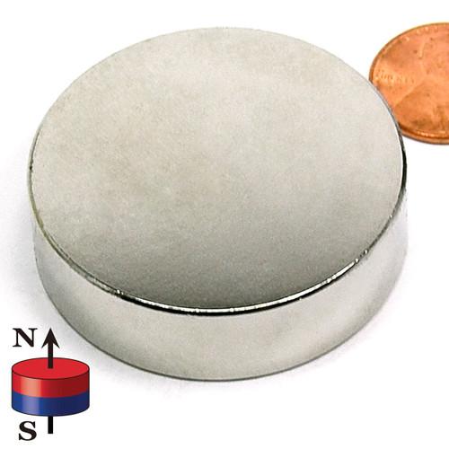"1 3/4X1/2"" N45 Neodymium Magnet"