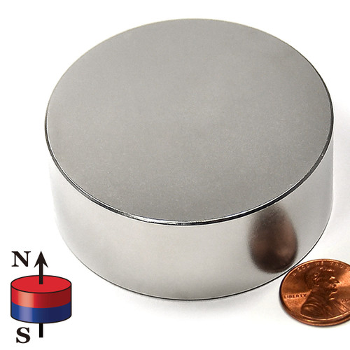 """2 1/2x1"""" Rare Earth Magnet neodymium therapy magnets"""