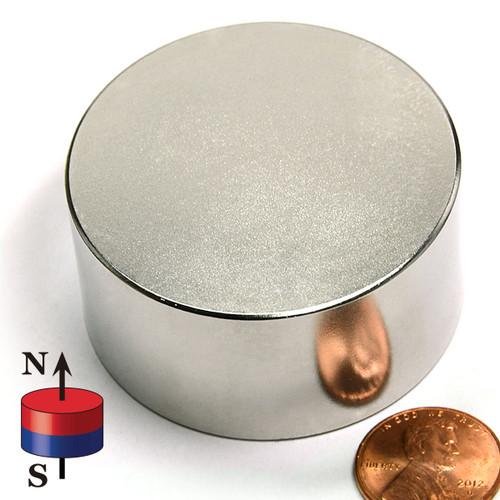 "2x1"" N42 Neodymium Magnet"