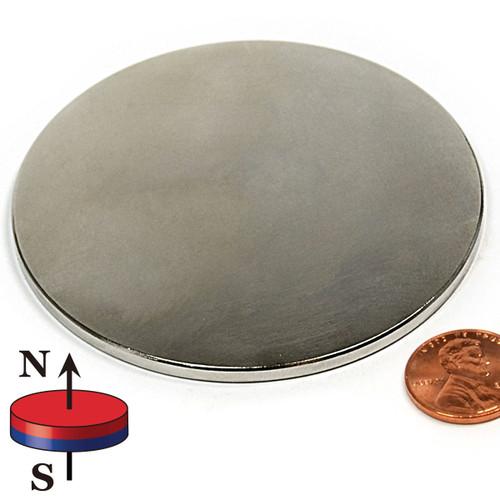 "3""X1/8"" N42 Disk Neodymium Magnet"