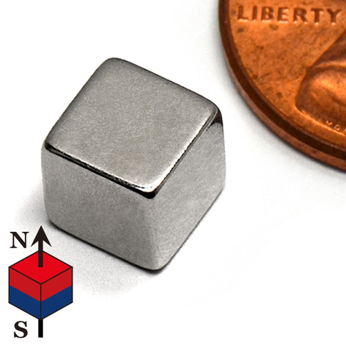 "1/4"" Cube NdFeB Rare Earth Magnets"