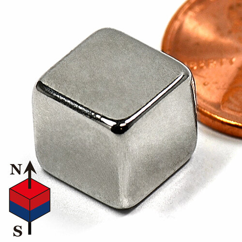 """3/8"""" Cube NdFeB Rare Earth Magnets for sale"""