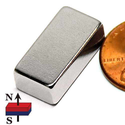 "3/4x3/8x1/4"" NdFeB Rare Earth Magnets"