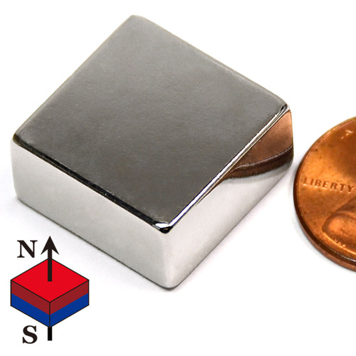 "3/4x3/4x3/8"" Rare Earth Magnets"