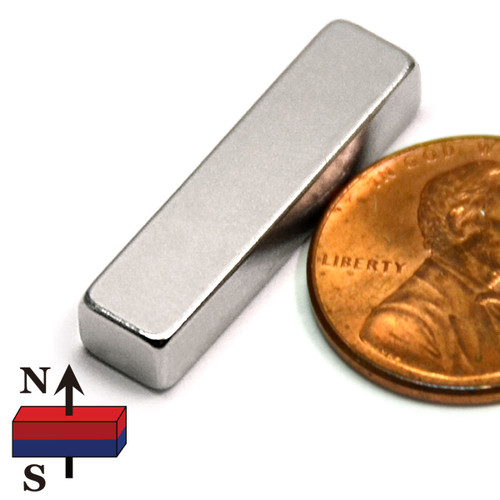 "1""x1/4""x3/16"" NdFeB Rare Earth Magnets"